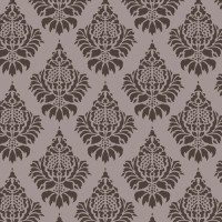 Decorze Brown Wall D?cor DS-16 Floral Stencil (Pack Of 1, Flower)