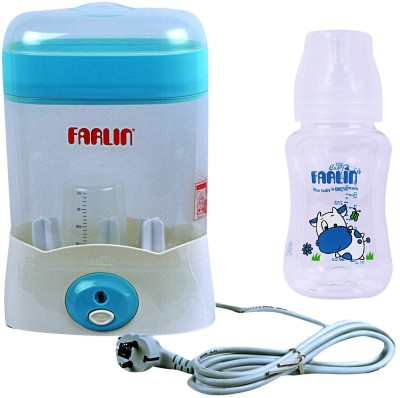 Farlin FARLIN AUTO STEAM STERILIZER - 3 Slots (Blue)
