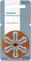 Siemens Hearing Aid Battery Size 312 (36 PCS) (Brown)