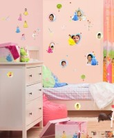 Decofun Princess Power Box - 131 Wall Sticker