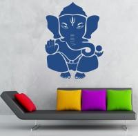 Decor Kafe Decal Style Shree Ganesha Large Size-32*43 Inch Vinyl Film Sticker (Pack Of 1)