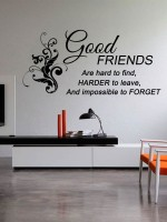 Trends On Wall Large Quotes Sticker (Pack Of 1)