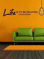 Trends On Wall Extra Large Quotes Sticker (Pack Of 1)