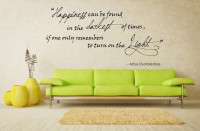 Decor Kafe Happiness Self Adhesive Wall Decal Large Size-32*16 Inch Wall Sticker Sticker (Pack Of 1)