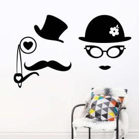 VsquareStudio Large Wall Sticker Sticker