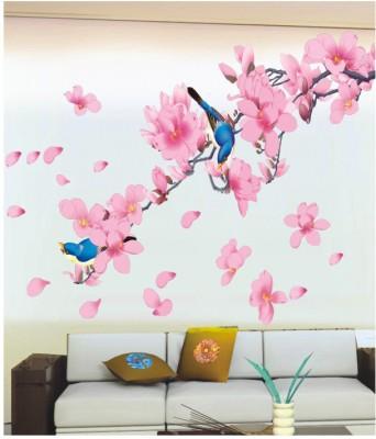 pindia 3d birds & flower branch wall sticker for rs. 399 at flipkart