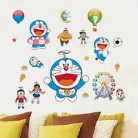 SYGA Doraemon Cartoon Wall Pvc Vinyle Sticker (Pack Of 1)