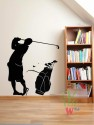 Wall Whispers Golf Player Vinyl Sticker - STIDW4SGZYHAWJH5