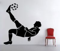 Decor Kafe Football Player Self Adhesive Wall Decal Large Size- 36*39 Inch Wall Sticker Sticker (Pack Of 1)