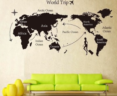 Wow wall stickers world trip wall pvc removable sticker for rs 399 wow wall stickers world trip wall pvc removable sticker for rs 399 at flipkart publicscrutiny Image collections