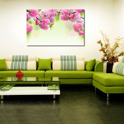 50 Off On 999store Pink Flower Vinyl Home Decor Pvc Wall