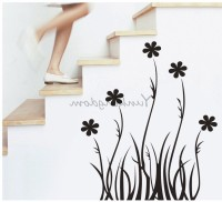 Oren Empower Black Branch Decorative Art Wall Stickers (Multicolor)