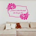 DeStudio Home Quote Love Family Friends Decal Wall Sticker Sticker