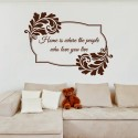 DeStudio Home Quote Love Family Friends Decal2 Wall Sticker Sticker