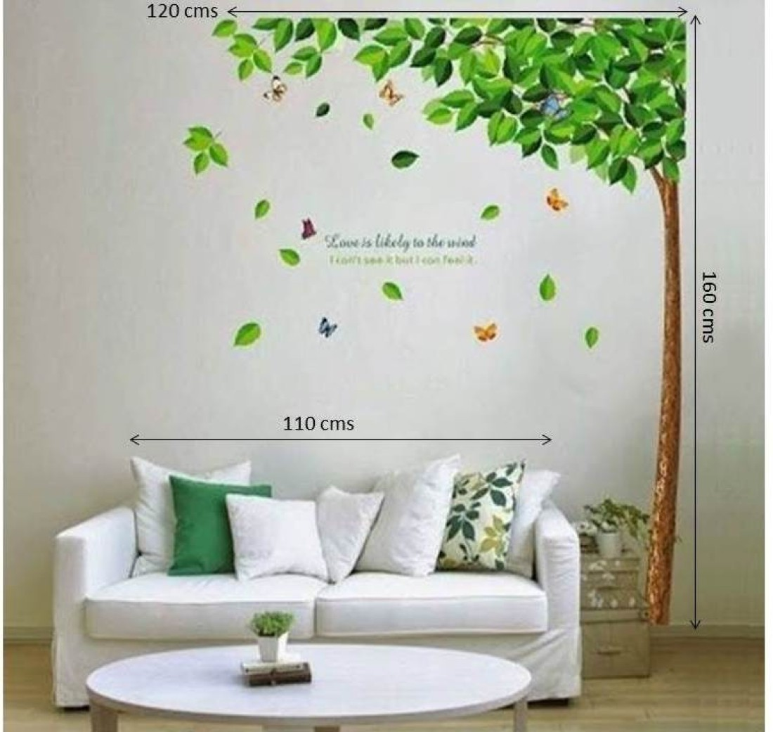 wow wall stickers pvc removable sticker price in india wall stickers buy wall decals amp stickers online in india