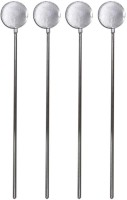 Rcube Stainless Steel 21 Cm Stirrer (Steel Pack Of 4)