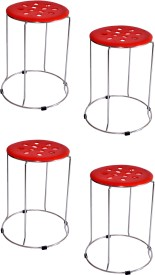 Zecado Large Red Outdoor & Cafeteria Stool