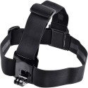 Power Smart Head Mount Belt For GoPro Hero2 Hero3 Hero4 Series With Anti Side Glue Strap (Black)