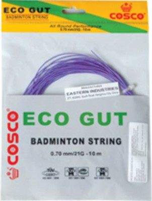 Cosco Cosco Eco Gut 15L Badminton String - 10 M (Multicolor)
