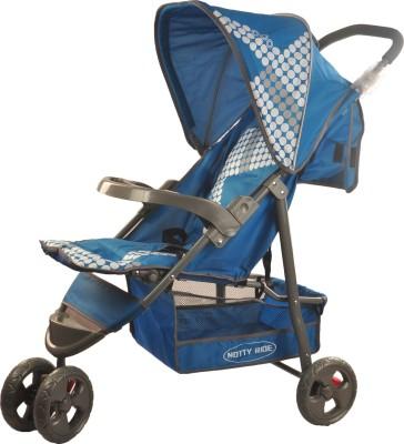 Notty Ride Three Wheel Light Weight Baby Stroller (Blue) (Blue)