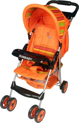 30% discount on Sunbaby Baby Buggy cum Stroller at Flipkart. com, available at Rs. 2782