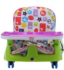 INTRA Kid's Royal Booster Seat and Baby Chair with Height Adjustable and Wheels
