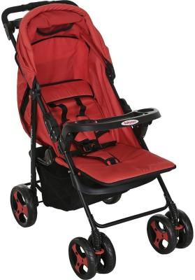 BabyOye Stroller Kite Lite- Red (Red)