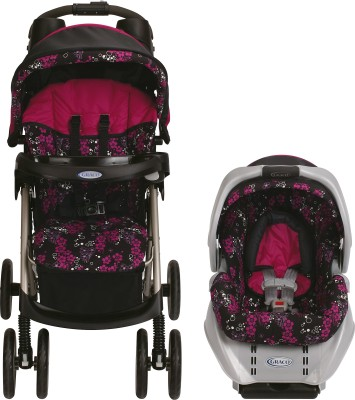 Graco Spree Classic Connect Travel System - Ariel (Multicolor)