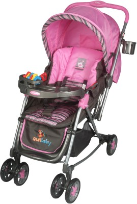 Sunbaby Rocking Travel System (Pink)