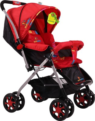 Sunbaby Jigsaw Stroller (Red)
