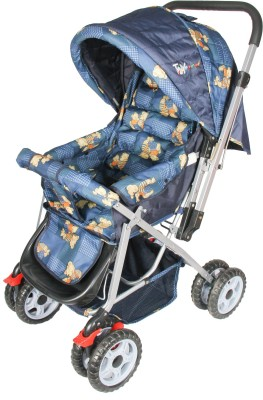 Toyhouse 2055-149 Teddy Pram (Blue)