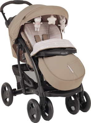 Graco Quattro Tour Deluxe Travel System Bear & Friends (Beige)