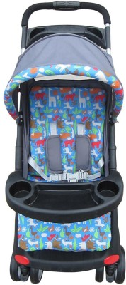 The Li'l Wanderers Stroller D6 - Animal Print (Multicolor)
