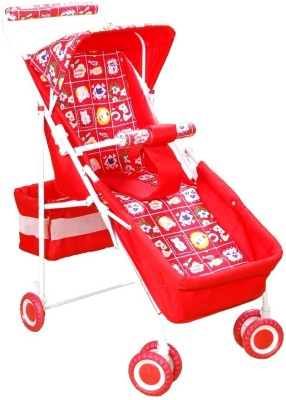 Mothertouch Pram Deluxe (Red)