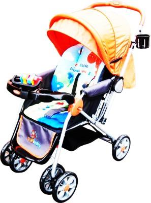 Sunbaby Stroller - Big Orange Giraffe (Orange)