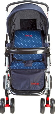 Luvlap 2 in 1 Baby stroller with Rocker (Blue)