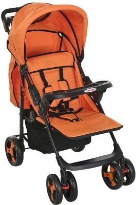 BabyOye Stroller Kite Lite- Orange (Orange)