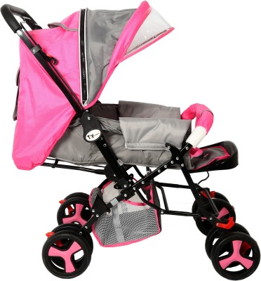 Toyhouse Stylish Pram (Pink)