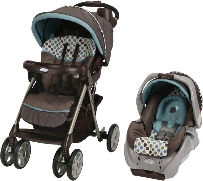 Graco Alano Classic Connect Travel System - Dakota (Multicolor)