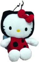 Hello Kitty Lady Beetle Custome  - 8 Inch (Red, White)