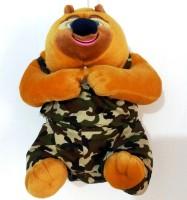 Jaibros Cute Kung Fu Panda Teddy  - 22 Cm (Multi)