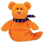 TY Beanie Babies Soft Toys TY Beanie Babies Shivers The Ghost Bear