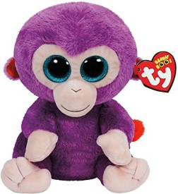 TY Beanie Babies Grapes The Purple Monkey Plush