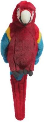 Hamleys Soft Toys Hamleys Poppy Red Parrot Soft Toy 10.6 inch