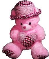 Galaxy Store Loving Teddy Bear  - 25 Inch (Pink)