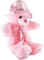 A Smile Toys & More Cap Teddy  - 49 Cm (Pink)