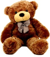 Grabadeal 2 Feet Teddy Bear With A Bow - 24 Inch (Brown)