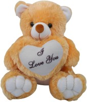 Saugat Traders I Love You Teddy Bear  - 40 Cm (Brown, White)