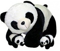 Ktkashish Toys Kashish Sweet Family Of Pandas.  - 22 Inch (Black)