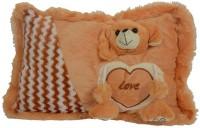 Deals India Puppy Soft Pillow  - 40 Cm (Brown)